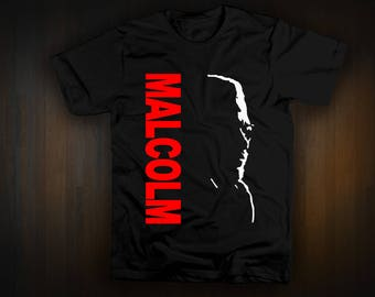 Malcolm X Day 2017 tee