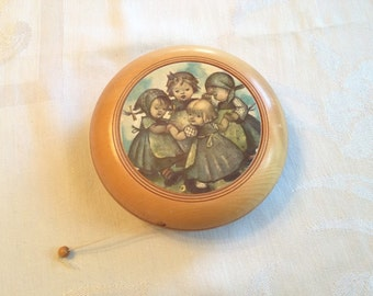 Hummel Music Box Voices of Spring, Children's Music Box, Reuge Wood Music Box