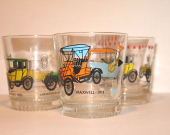Vintage 70s whiskey glasses