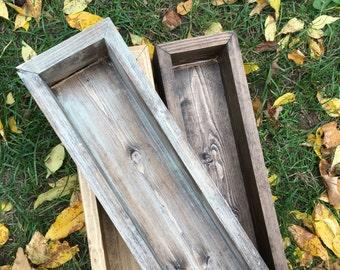 Rustic Centerpiece, Planter Box, Flower Box, Rustic Home Decor,  Fixer Upper Decor