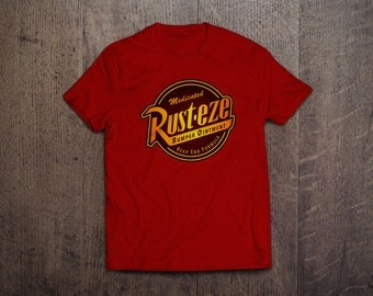 CARS Rust-Eze - Mens and Womens Round Neck T-Shirt