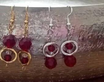 ringed earrings