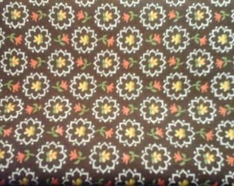 1/4yd 1960/70s Vintage Fabric