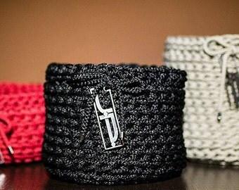 NEW! Round  Crochet Baskets