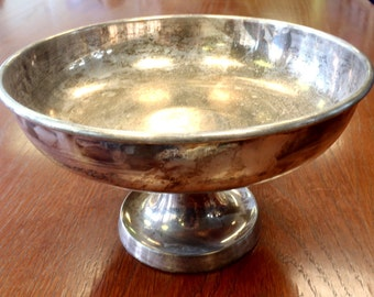 British Army Fruit Metal Bowl - Vintage/Old/Antique/Historical - MOD - Round Bowl