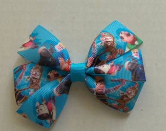 Tad the Explorer (inspired) hair bow, Tad the Explorer headband, Tad the Explorer pigtail sets