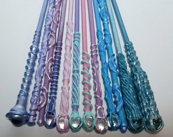 Princess Unicorn Fairy wand / Magic Wand / Fairy Wand / Princess Birthday Girl / Princess Costume Wands