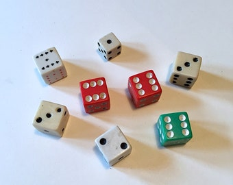 Vintage LUCKY Dice