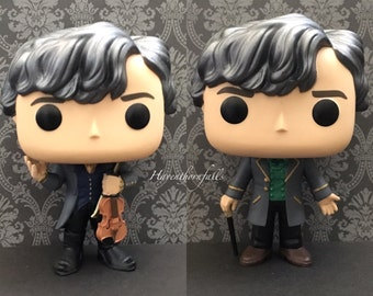 Jem Carstairs  Cane / Violin - Custom Funko Pop Shadowhunters  - James Infernal Devices