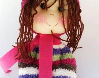 Rag doll for the little girl.