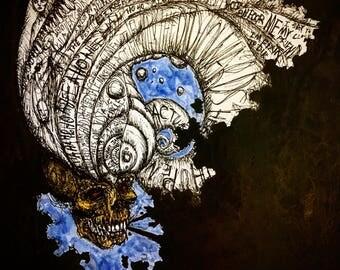 Thinky Skull (Original)