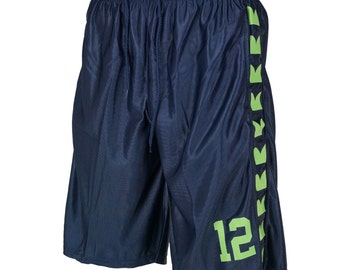 Seattle Seahawks 12th Man Basketball Shorts