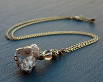 smoky quartz necklace, smoky quartz jewelry, smoky quartz pendant, smoky quartz stone, crystal necklace, crystal point, smoky quartz
