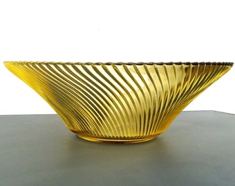 Golden yellow bowl