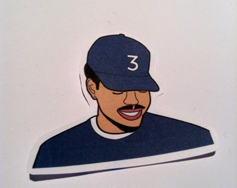 Chance The Rapper PAPER Stickers & Magnets