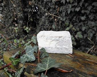 Natural exfoliating soap