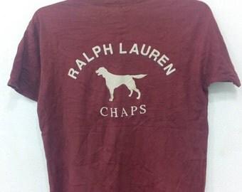 Rare chaps Ralph Lauren T-shirt S size