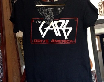Rare Vintage The Cars T-Shirt