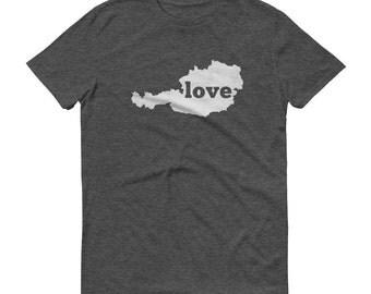 Austria, Austria Shirt, Austrian T Shirt, Austria Tshirt Austria Clothing, Austria Map, Austria Gifts, Made in Austria, Austria Love