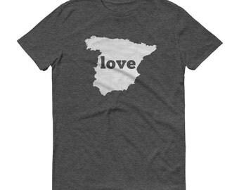 Spain, Spanish Clothing, Spanish Shirt, Spanish T Shirt, Spain TShirt, Spain Map, Spanish Gifts, Made in Spain, Spain Love Shirt, Spanish