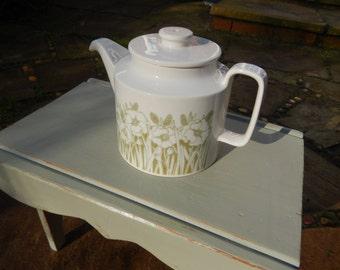 Hornsea Pottery Fleur Teapot, Horsea Pottery, Tea for Two, Cafe, Tearooms, Collectable Vintage Hornsea