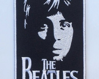 Paul McCartney The Beatles Embroidered Iron on / Sew on Patch Logo Badge Crest Emblem