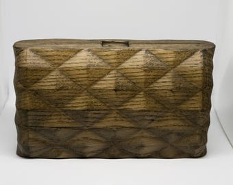 Wood Purse, Wooden Purse, Purse, Bag, Rhombus Purse, Wood Handbag, Geometric
