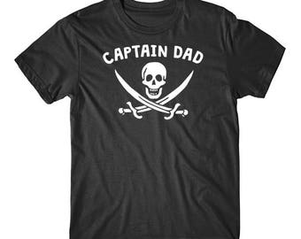 Captain Dad Pirate Funny Father's Day Shirt