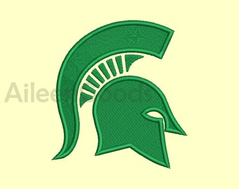 Michigan State Spartans Embroidery  design 8 Size 8 File INSTANT download machine embroidery