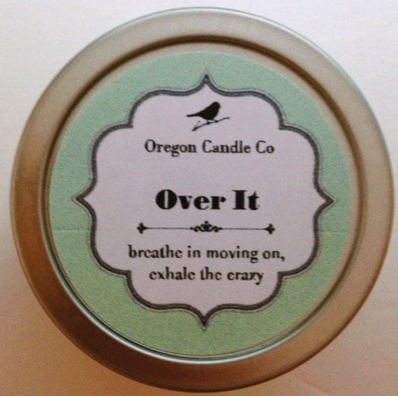 Over It >> 2 oz soy candle