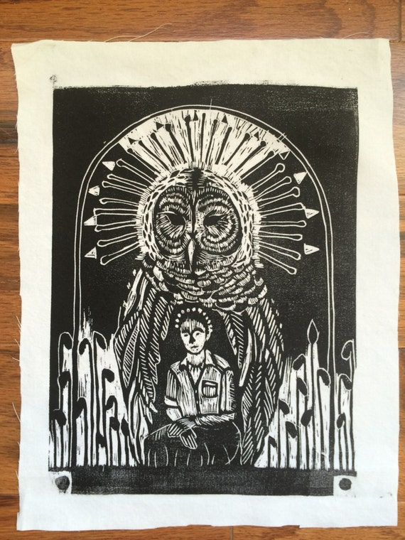 Owl Protector Patch