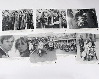 The Who Quadrophenia Theater Lobby Cards Original Full Set of 8 Mint Condition Vintage 1970's Rare