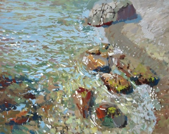 "The painting ""Sandy Beach"""