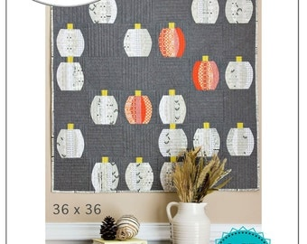 Mini Pumpkins Quilt Pattern