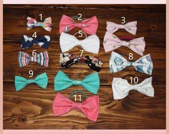 Bow Tie Hair Tie