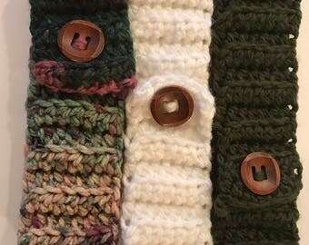 Crocheted Ear warmer/headband