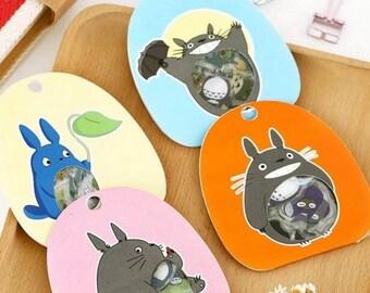 Confezione 60 stickers Totoro super kawaii!