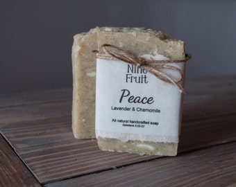 PEACE Bath Bar - Made with doTERRA Lavender Essential Oil