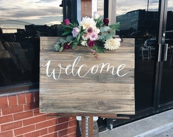 Hand Painted Custom Wooden Signs