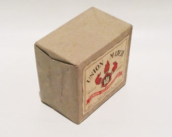 Vintage Union Matches store pack