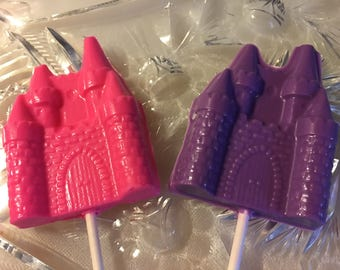 Castle Chocolate Lollipop