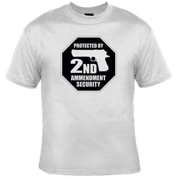 Protected By 2ND Amendment Security T-Shirt