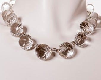 "Luxurious Rock Crystal LAINE HOADLEY Original 16"" Necklace"
