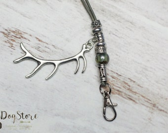 Luxury lanyard - Gundog whistle lanyard - Moss green