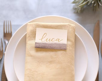 Handwritten placeholders