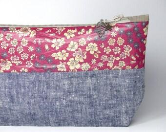 LIBERTY, COATED Cotton - Cosmetic bag