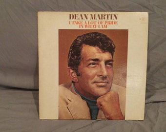 "Dean Martin I Take A Lot Of Pride In What I am, 1969 12""LP"