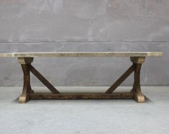Reclaimed Wood Rustic Dining Table (Grand Duke)