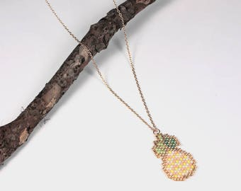 "Necklace ""Pineapple"""