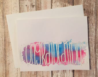 Congratulations card, wedding congratulations card, pregnancy congratulations card, handmade cards, greeting cards, wedding cards, hand made